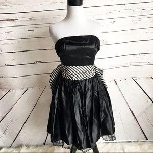 Gunne Sax vintage party dress 5 bow